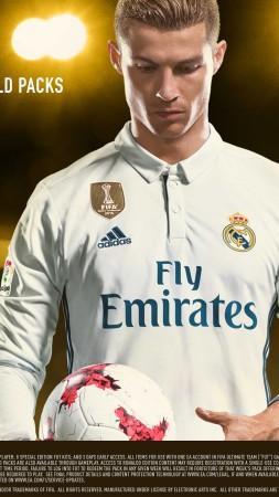 FIFA 18 4k Ronaldo Edition Poster E3 2017 Vertical