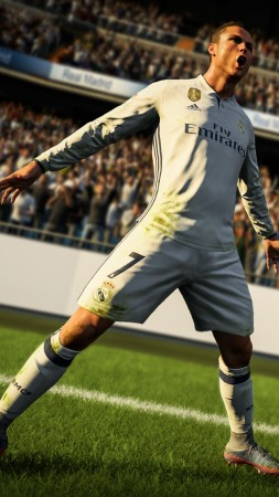 FIFA 18, 4k, screenshot, poster, E3 2017 (vertical)