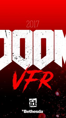 Doom VFR, 4k, 2017, VR, E3 2017 (vertical)