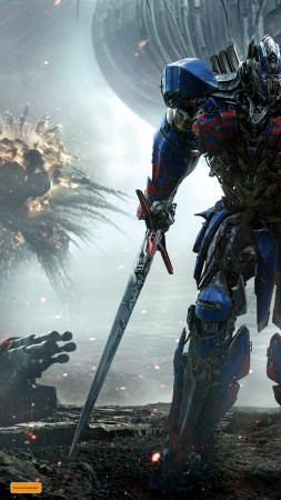 Transformers: The Last Knight, Transformers 5, 4k (vertical)