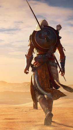 Assassin's Creed Origins, 4k, E3 2017, screenshot (vertical)