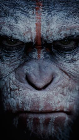 War for the Planet of the Apes, 4k (vertical)