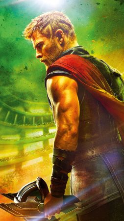 Thor: Ragnarok, Chris Hemsworth, 4k, 5k (vertical)