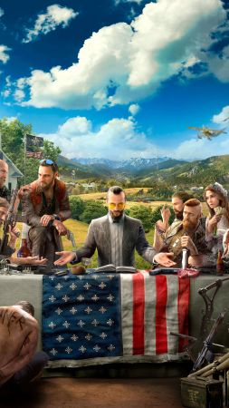 Far Cry 5, 4k, HD, E3 2017 (vertical)