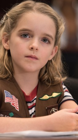 Gifted, Mckenna Grace, 4k (vertical)