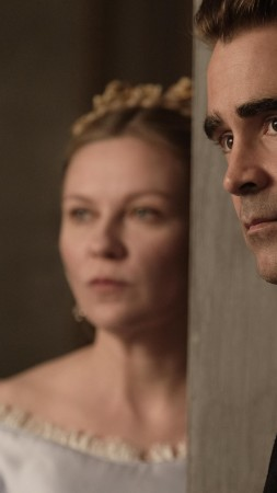 The Beguiled, Kirsten Dunst, Colin Farrell, 4k (vertical)