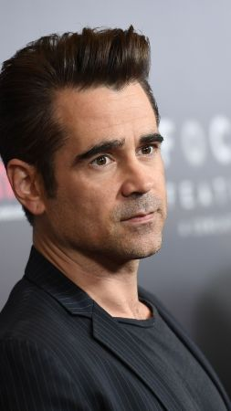 Colin Farrell, 4k, photo (vertical)