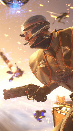 Lawbreakers, 5k, E3 2017, screenshot (vertical)