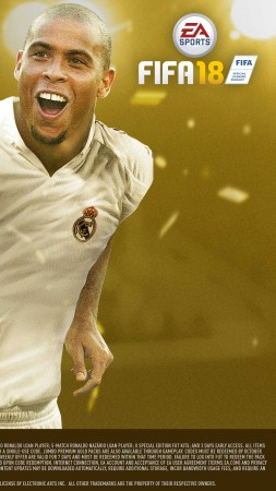 FIFA 18, 4k, icon edition, poster, E3 2017 (vertical)