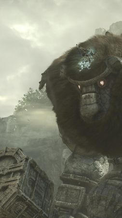 Shadow of the Colossus, 4k, screenshot, E3 2017 (vertical)