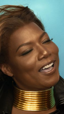 Queen Latifah, 4k, photo (vertical)