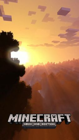 Minecraft 4k edition, E3 2017, xBox One X, screenshot (vertical)