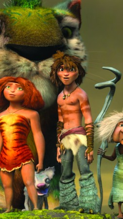 The Croods 2, 5k, best animation movies (vertical)