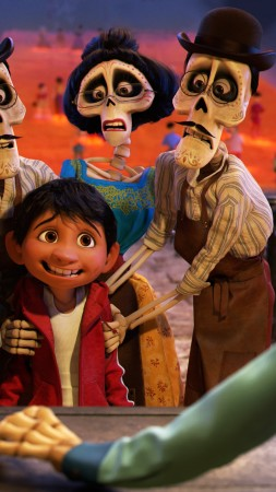 Coco, 5k, best animation movies (vertical)