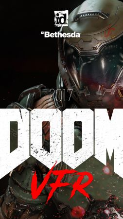 Doom VFR, 4k, VR, E3 2017 (vertical)