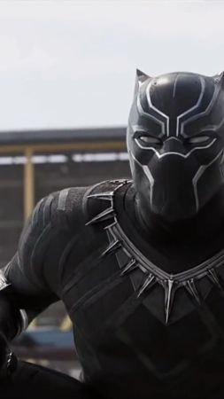 Black Panther, 4k, 2018, Michael B. Jordan (vertical)