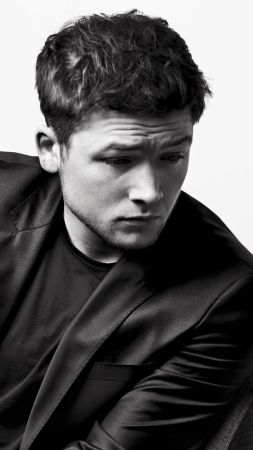 Taron Egerton, 4k, photo (vertical)