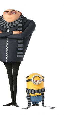 Despicable Me 3, Dru, minion, 4k, poster (vertical)