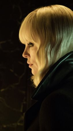 Atomic Blonde, Charlize Theron, 5k (vertical)