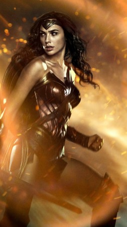 Wonder Woman, Gal Gadot, 5k (vertical)