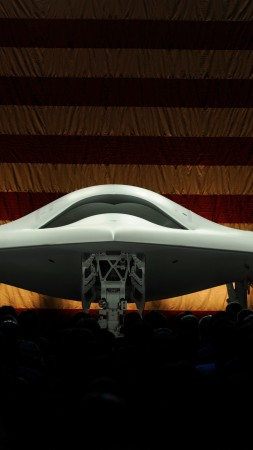X-47B, drone, Northrop Grumman, Pegasus, UCAS-D, UAV, USA Army, presentation, USA flag, U.S. Air Force