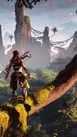 Horizon Zero Dawn, E3 2016, action role-playing (vertical)