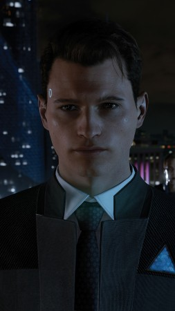 Detroit: Become Human, 8k, E3 2017, screenshot (vertical)