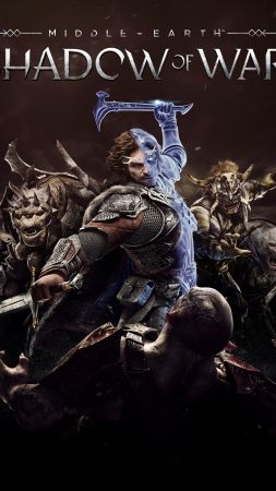 Middle-earth: Shadow of War, 4k, E3 2017, poster (vertical)