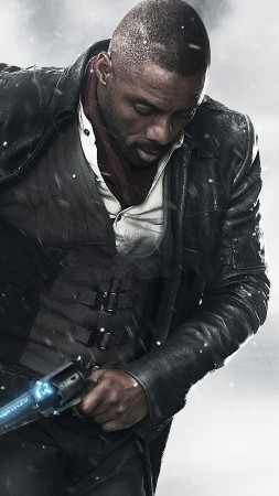 The Dark Tower, Idris Elba, 4k (vertical)