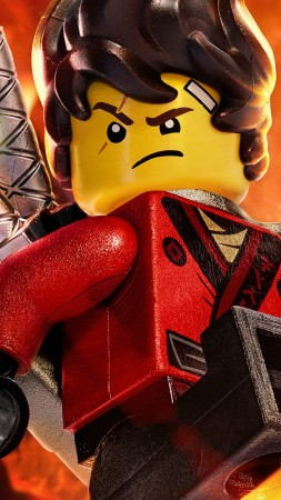 The LEGO Ninjago Movie, Be Fire, 4k (vertical)