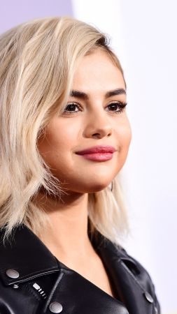 Selena Gomez, beauty, photo, 4k (vertical)