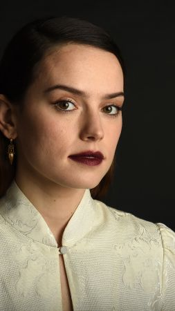 Daisy Ridley, beauty, photo, 4k (vertical)