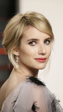 Emma Roberts, photo, 4k (vertical)