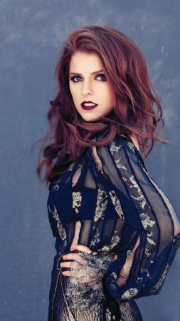 Wallpaper Anna Kendrick Kittens Cats Top Fashion Models