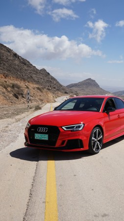 Audi RS 3, 2018 Cars, 5k (vertical)