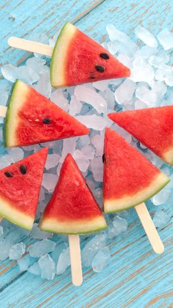 watermelon, ice, delicious, 5k (vertical)