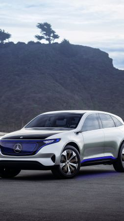 Mercedes Generation EQ, electric cars, 4k (vertical)