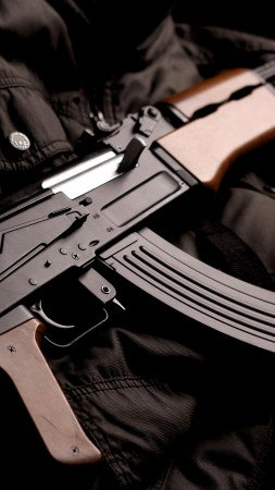 AK-74, Kalashnikov, AK-47, assault rifle, Russia, USSR, modern, weapon