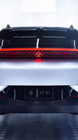 Faraday Future, FF91, electric cars, 4k (vertical)