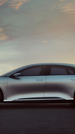 Lucid Air, electric cars, 4k (vertical)