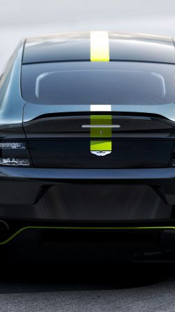 Aston Martin Rapide AMR, electric cars, 4k (vertical)