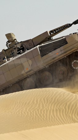 Pume, IFV, Bundeswehr, infantry fighting vehicle, sand, desert