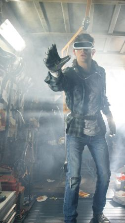 Ready Player One, Tye Sheridan, 5k, VR (vertical)