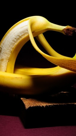 love image, bananas, HD (vertical)
