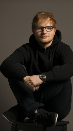 Ed Sheeran, photo, 4k (vertical)