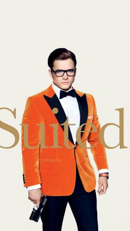 Kingsman: The Golden Circle, Taron Egerton, 4k (vertical)
