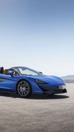 McLaren 570S Spider, 2018 Cars, 5k (vertical)