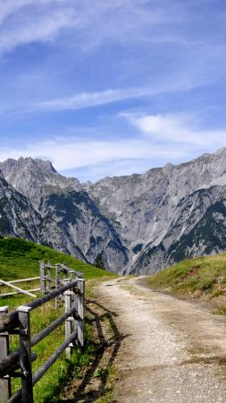 Tirol, Austria, Europe, mountain, travel, 4k (vertical)
