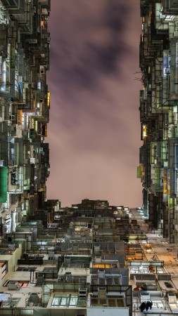 National Geographics, Living in a Box, Apartment, units, Hong Kong (vertical)