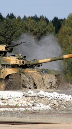 T-90A, tank, MBT, third-generation, Russian Army, Russian Ground Forces, military vehicles, test operation